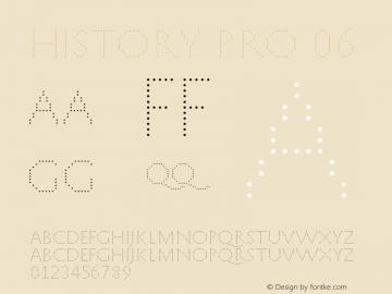 HistoryPro-Six Version 1.0; 2013图片样张