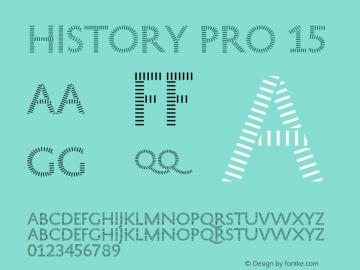 HistoryPro-Fifteen Version 1.0; 2013图片样张