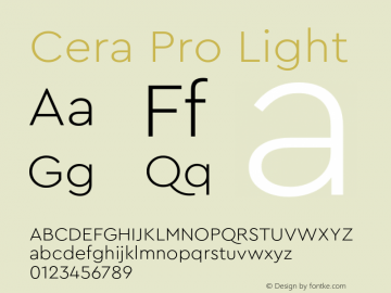 CeraPro-Light Version 6.0 | wf-rip DC20180515图片样张
