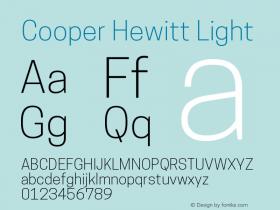 CooperHewitt-Light 1.000图片样张