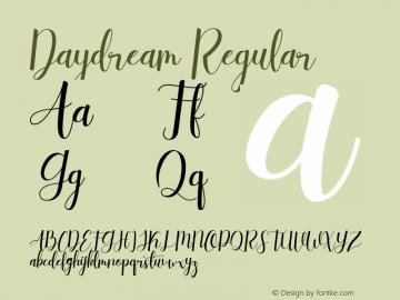 Daydream 图片样张