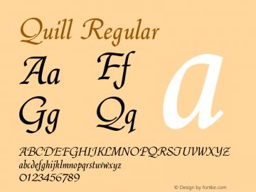Quill Version 1.0图片样张