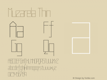 Muzarela-Thin Version 1.000图片样张