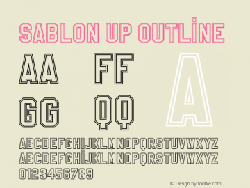 SablonUp-Outline 001.000图片样张