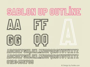 SablonUp-Outline 001.000图片样张