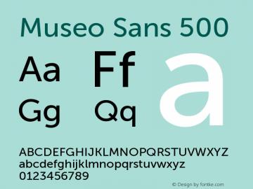 MuseoSans-500 1.000图片样张