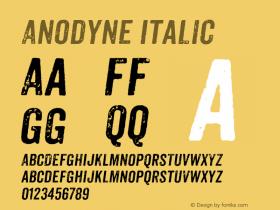 Anodyne-Italic Version 1.001图片样张