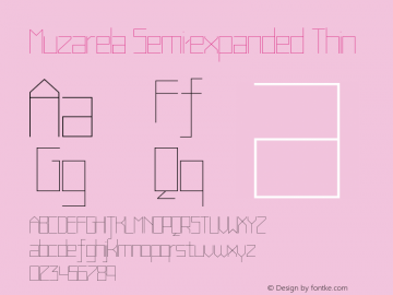 Muzarela-SemiexpandedThin Version 1.000图片样张