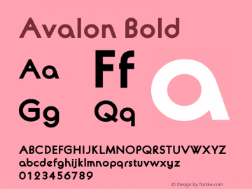 Avalon-Bld 4.0图片样张