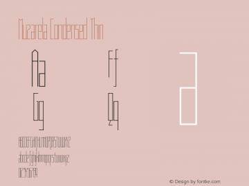 Muzarela-CondensedThin Version 1.000图片样张