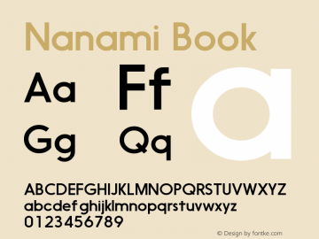 Nanami-Book Version 1.000图片样张