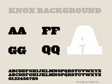 Knox-Background 001.000图片样张
