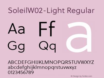 Soleil W02 Light Version 1.10图片样张