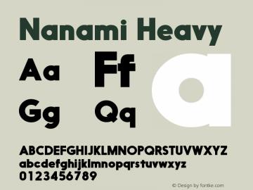 Nanami-Heavy Version 1.000图片样张