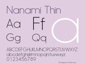 Nanami-Thin Version 1.000图片样张