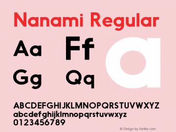 Nanami Version 1.000图片样张
