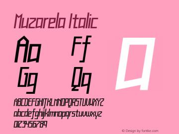 Muzarela-Italic Version 1.000图片样张