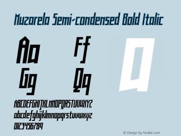 muzarela font