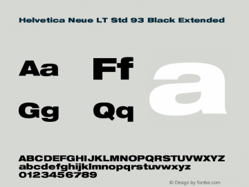 helvetica neue lt std 57 condensed font download