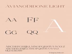 AvianoDidone-Light Version 1.000图片样张