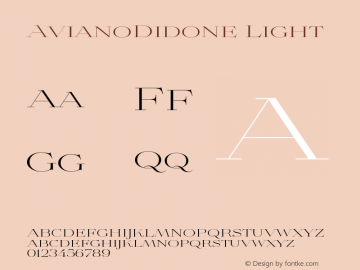 AvianoDidone-Light Version 1.000图片样张
