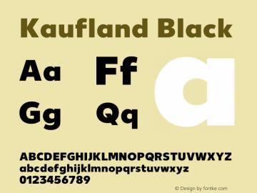 Kaufland Black Version 8.000图片样张