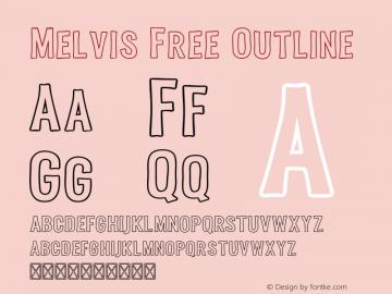 Melvis Free Outline 1.0图片样张