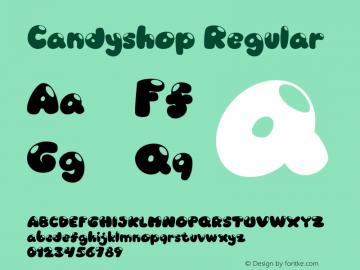 Candyshop-Regular Version 1.000图片样张