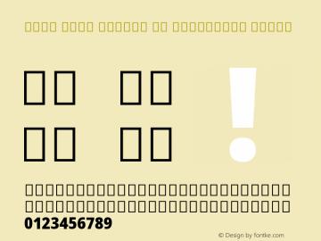 Noto Sans Arabic UI Condensed Black Version 2.000; ttfautohint (v1.8.2)图片样张