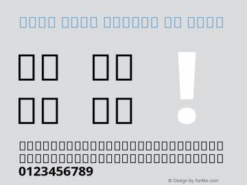 Noto Sans Arabic UI Bold Version 2.000;GOOG;noto-source:20181019:f8f3770;ttfautohint (v1.8.2)图片样张
