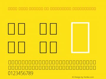 Noto Sans Arabic UI Condensed ExtraLight Version 2.000; ttfautohint (v1.8.2) Font Sample