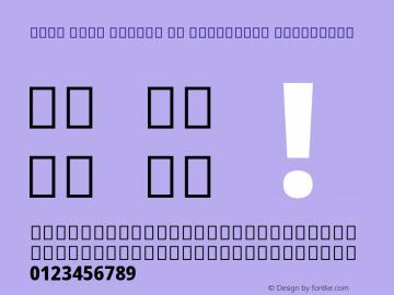 Noto Sans Arabic UI Condensed ExtraBold Version 2.000; ttfautohint (v1.8.2)图片样张