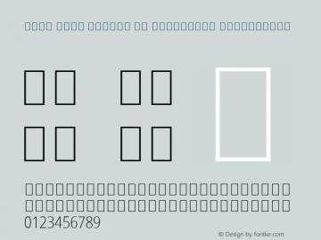 Noto Sans Arabic UI Condensed ExtraLight Version 2.000;GOOG;noto-source:20181019:f8f3770;ttfautohint (v1.8.2)图片样张