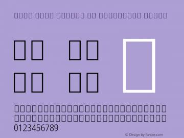 Noto Sans Arabic UI Condensed Light Version 2.000; ttfautohint (v1.8.2)图片样张