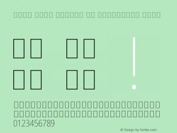 Noto Sans Arabic UI Condensed Thin Version 2.000图片样张