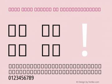 Noto Sans Arabic UI ExtraCondensed Version 2.000; ttfautohint (v1.8.2)图片样张