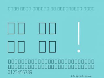 Noto Sans Arabic UI Condensed Thin Version 2.000;GOOG;noto-source:20181019:f8f3770;ttfautohint (v1.8.2) Font Sample
