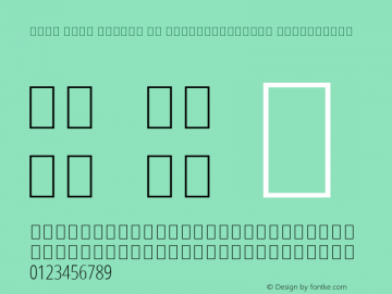 Noto Sans Arabic UI ExtraCondensed ExtraLight Version 2.000; ttfautohint (v1.8.2)图片样张