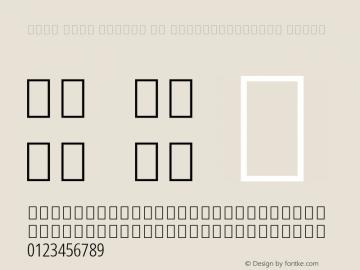 Noto Sans Arabic UI ExtraCondensed Light Version 2.000; ttfautohint (v1.8.2) Font Sample