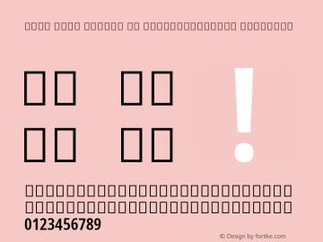 Noto Sans Arabic UI ExtraCondensed SemiBold Version 2.000; ttfautohint (v1.8.2) Font Sample
