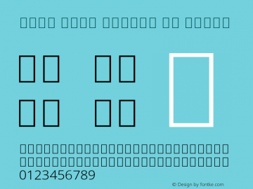 Noto Sans Arabic UI Light Version 2.000; ttfautohint (v1.8.2) Font Sample