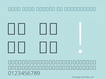 Noto Sans Arabic UI ExtraLight Version 2.000图片样张