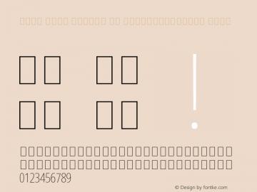 Noto Sans Arabic UI ExtraCondensed Thin Version 2.000;GOOG;noto-source:20181019:f8f3770;ttfautohint (v1.8.2) Font Sample