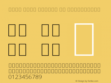 Noto Sans Arabic UI ExtraLight Version 2.000;GOOG;noto-source:20181019:f8f3770;ttfautohint (v1.8.2)图片样张