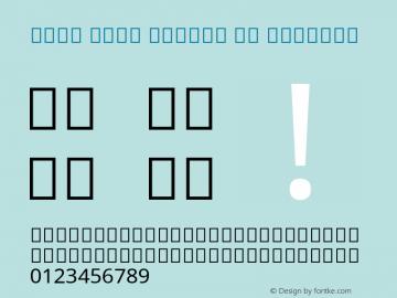Noto Sans Arabic UI Regular Version 2.000; ttfautohint (v1.8.2) Font Sample
