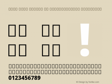 Noto Sans Arabic UI SemiCondensed ExtraBold Version 2.000; ttfautohint (v1.8.2) Font Sample