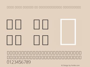 Noto Sans Arabic UI SemiCondensed ExtraLight Version 2.000; ttfautohint (v1.8.2) Font Sample