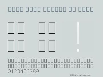 Noto Sans Arabic UI Thin Version 2.000;GOOG;noto-source:20181019:f8f3770;ttfautohint (v1.8.2) Font Sample