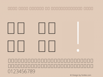 Noto Sans Arabic UI SemiCondensed Thin Version 2.000;GOOG;noto-source:20181019:f8f3770;ttfautohint (v1.8.2) Font Sample
