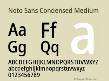 Noto Sans Condensed Medium Version 2.001;GOOG;noto-source:20181019:f8f3770;ttfautohint (v1.8.2)图片样张